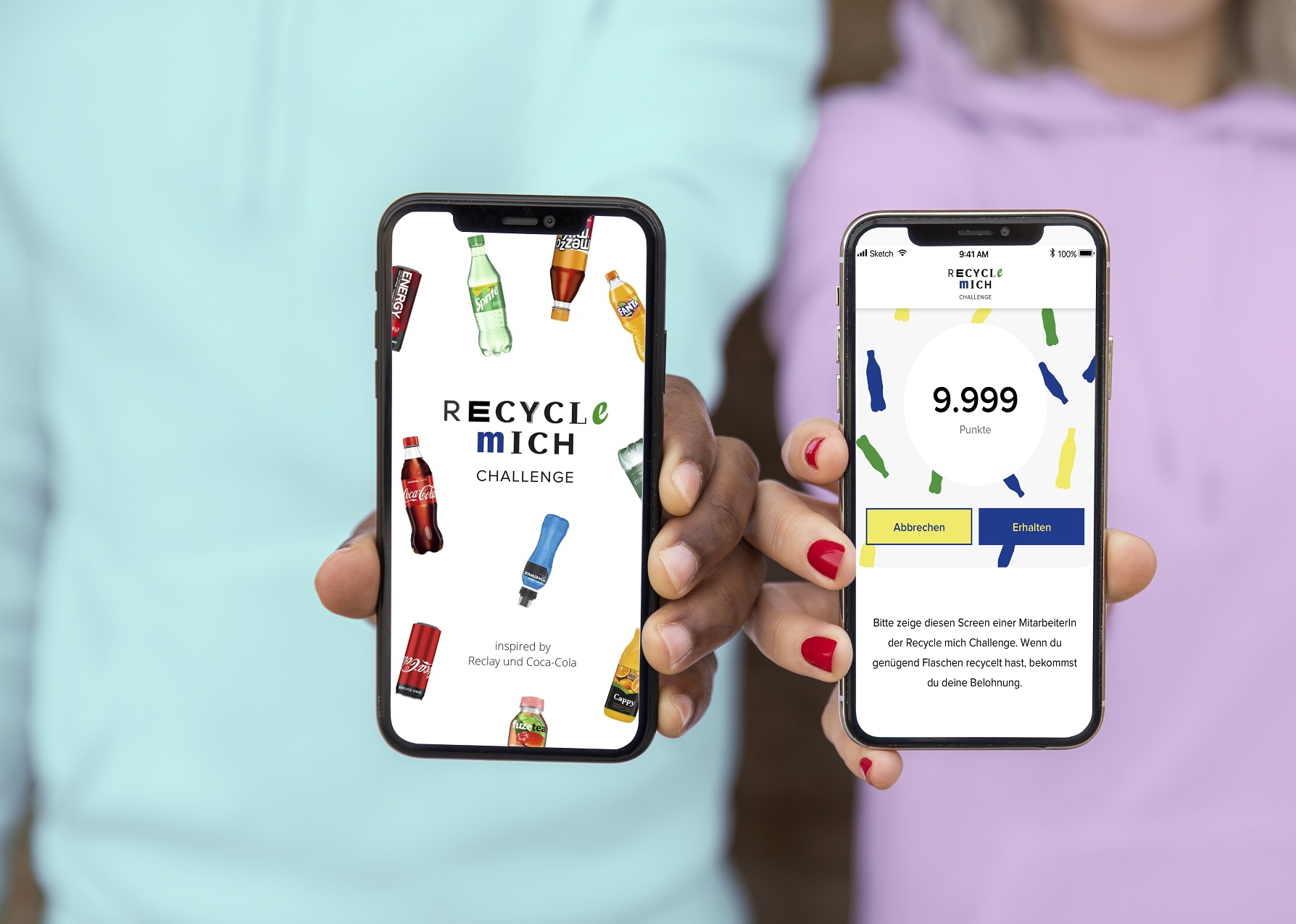 PET-Recycling: Coca-Cola und Reclay Group belohnen Konsumenten per App