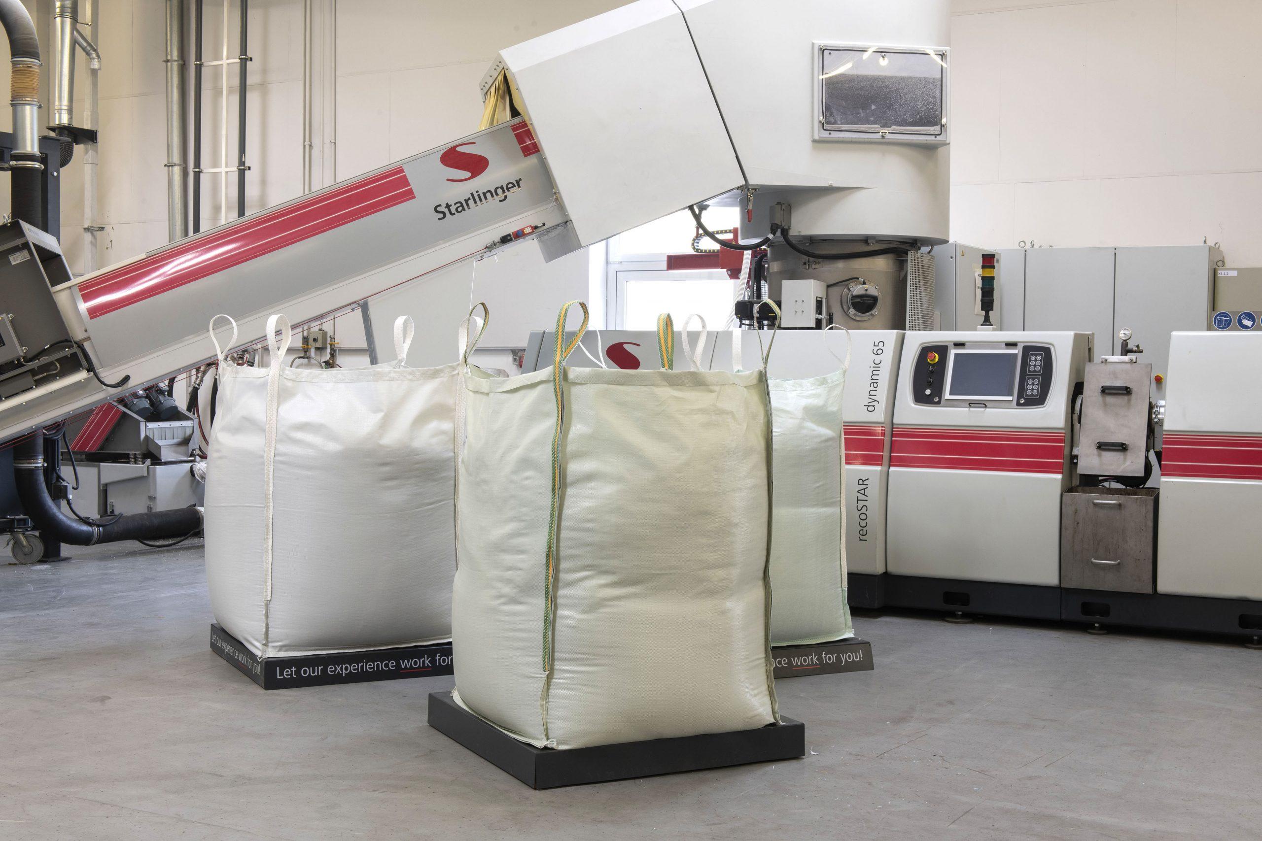 Ein geschlossener Verpackungskreislauf für industrielle Schüttgüter von Starlinger