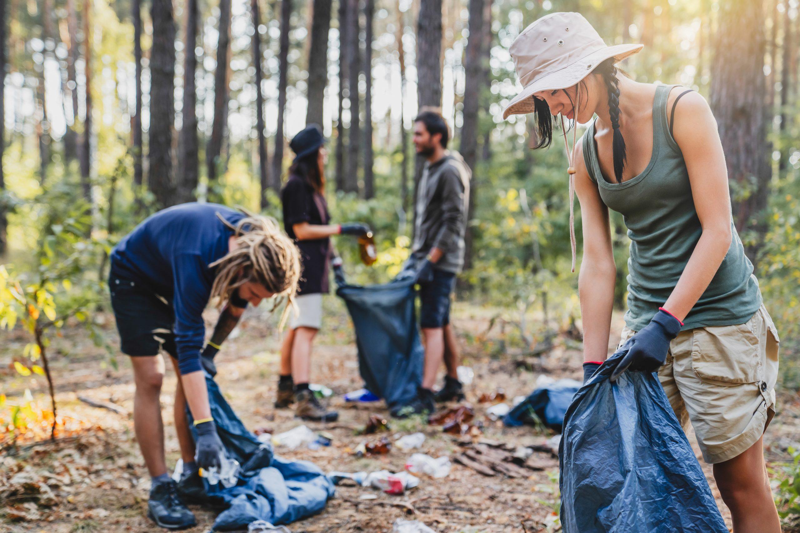 World Cleanup Day: Durch die richtige Entsorgung von Müll die Natur schützen